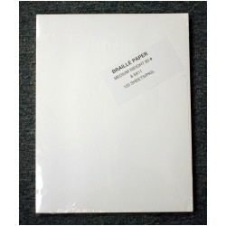 Unpunched Light Weight Braille Paper (100 sheets)