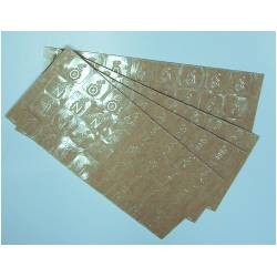 Large Braille Letters and Numbers on Transparent Adhesive Stick-Ons