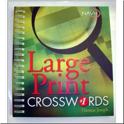 Large-Print Crossword Puzzle Books