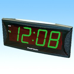 Big 'N Bossy Green Alarm Clock