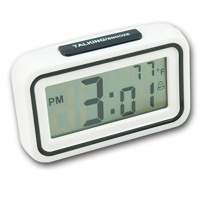 Time & Temperature Talking Clock