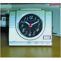 Analog and Digital Talking Desk Clock