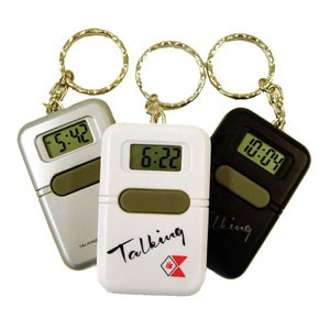 Talking Clock Keychain