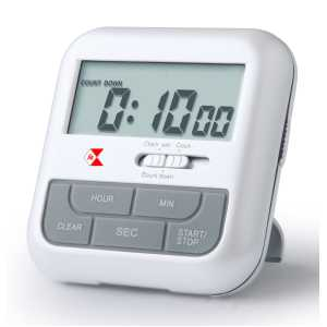 talking timer and travel alarm clock