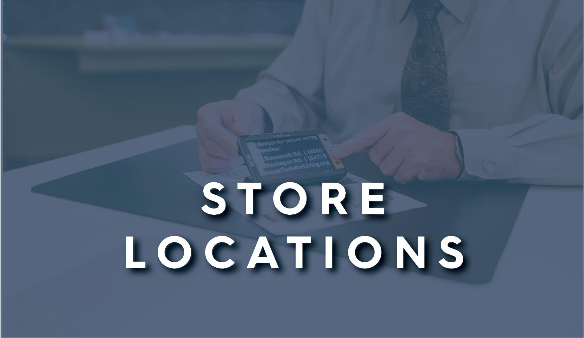 Store locations button