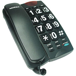 Big Button Black Telephone