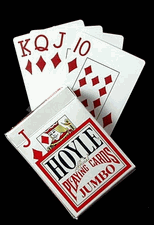 Hoyle Super Jumbo Number Playing Cards