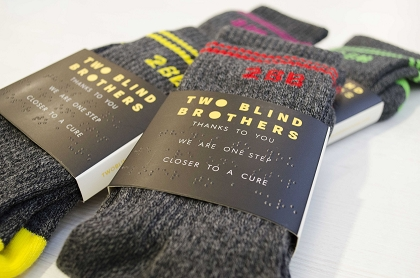 Two Blind Brothers--Mid-Calf Socks