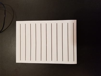 Bold Line Sticky Pad - White 4 X 6 (50 sheets)