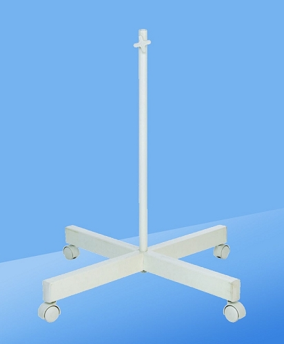 Four Spoke Floorstand, White