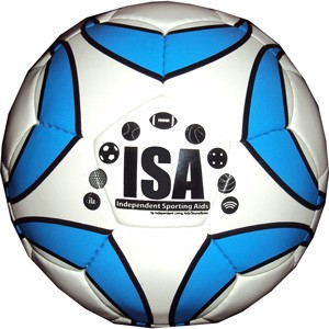 ISA Soccer Ball with Rattle Pods
