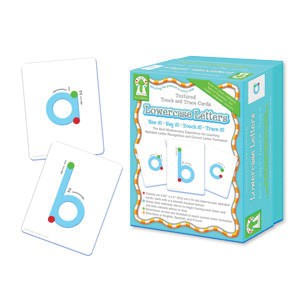 Textured Touch and Trace Lowercase Cards