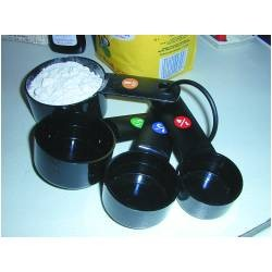 Black Measuring Cups by Good Grips
