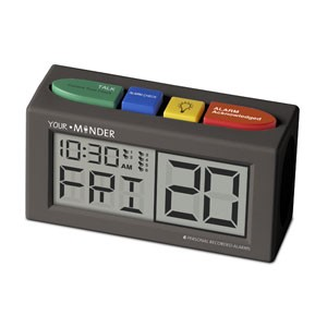 """Your.Minder"" Personal Recording Talking Alarm Clock"