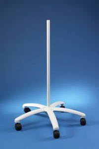 "34"" Floor Stand with casters and glides"