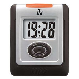 Male Voice Talking Clock with Musical Alarm