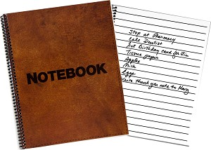 Large Print Notebook